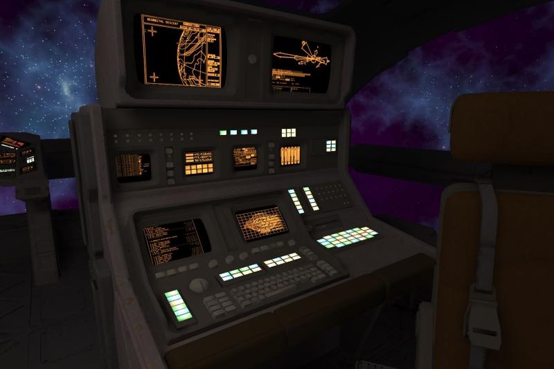 Vr Spaceship Game