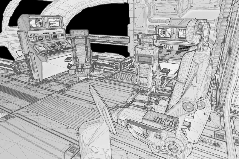 Creating a VR Spaceship Bridge in Unity | Photo and Design Blog